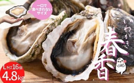 いわがき春香フルシェルL(16個)
