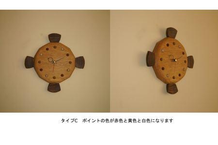 MM-7 魚の木の時計(MANBOU)