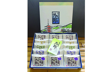 29E-014 5種類の生外郎15個入り化粧箱