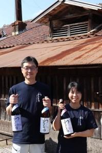 01D-058 わかむすめ 純米吟醸「薄花桜」と純米「月草」飲み比べセット