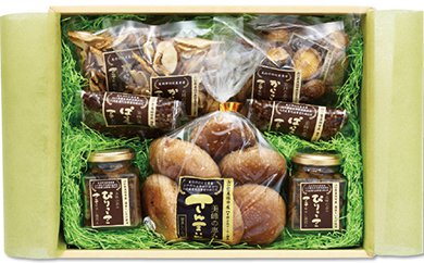 【E002】 菌床椎茸 さんまいん及び加工品詰め合わせ【10pt】