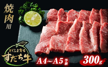 A-24 すだち牛黒毛和牛(焼き肉用)300g