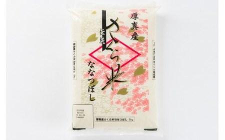 0010 特A受賞8年連続! 北海道あつまのブランド米(ななつぼし)10kg