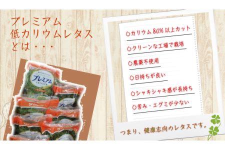プレミアム低カリウムレタス(8袋セット)【A-18】
