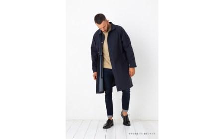 [020080]無縫製の次世代ウエアー! シームレスステンカラーコート