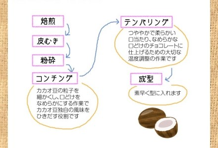 【B-70】Bean to  Bar  コーヒーチョコレート カカオ55%  I 2枚セット