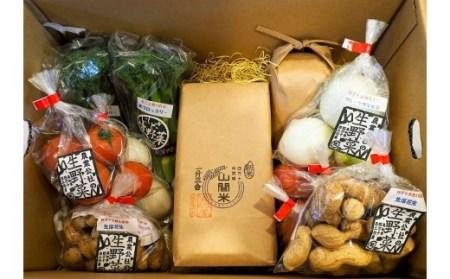 19-051.山間米と西土佐農業公社の野菜たち