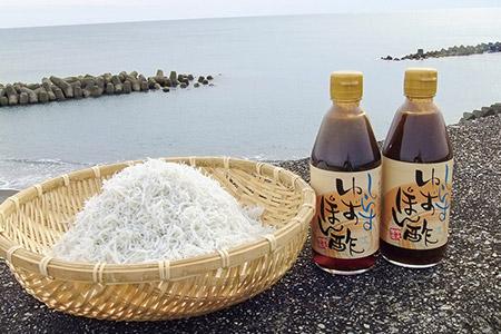 ★中元商店のしらすポン酢セット A-292