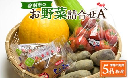 A-158 生産者の想いをのせて旬のモノをお届けします! 香南市のお野菜詰合せA