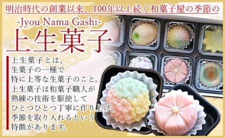 ★四季の定期便 季節の上生菓子 E-17