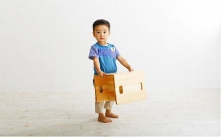 【ふるさと納税・木・おもちゃ・プレゼント・ベビー】コロコロ変化いす