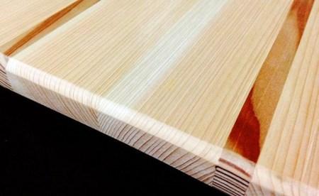 四万十ヒノキが香る!素材を引き立たせたカッティングボード【木心館】 Oms-03k