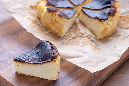 土佐ジロー卵のバスクチーズケーキ[0976]