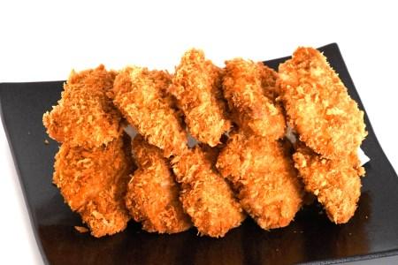 BD-012 手仕込み 精肉店のお惣菜 福岡県産豚ヒレカツ 10枚(50g×10枚)