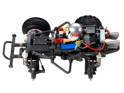 BT-007 K2Factoryの組立走行フルコースプラン【タミヤRCコミカルマイティフロッグ】