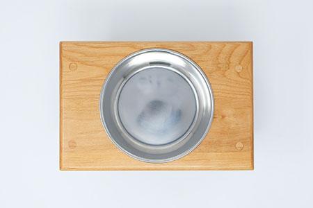 さくらねこ アルダー製フードボウルスタンド(1皿)