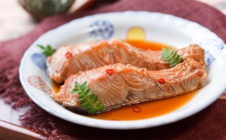 北海道産秋鮭の焼き漬(3切入×4袋)