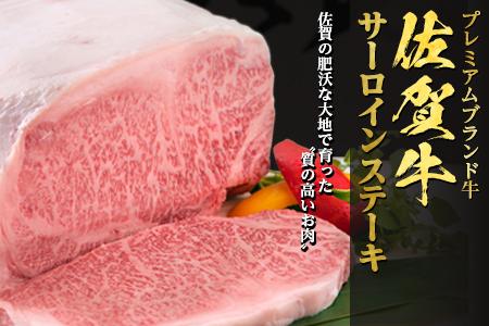 佐賀牛A5等級サーロインステーキ250g×2枚 計500g 【ふるなび】