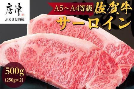 『緊急生産者支援特別企画』佐賀牛サーロイン600g(300g×2枚) 【ふるなび】