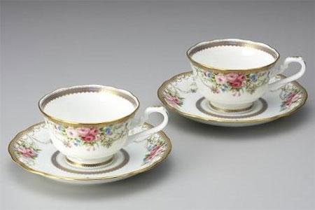 H130アフロディーテ コーヒー碗皿ペアセット