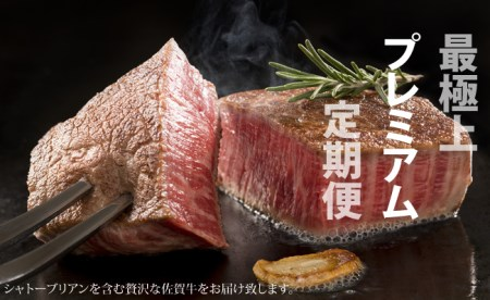 J-1 No Meat, No Life(佐賀牛シャトーブリアン含む)プレミア定期便 100万円コース