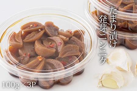 A5-042 発芽ニンニクたまり漬け(100g×3パック) 5千円コース
