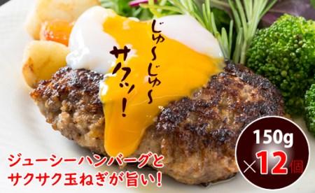 B10-107 佐賀県産合いびき肉ハンバーグ(150g×12個)すぎもと 1万円コース