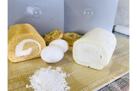 『米粉ロールケーキ&ドーナツ』米粉スイーツセット (H053103)