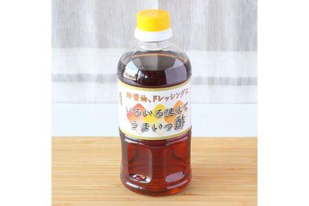 万両のいろいろ使えてうまいっ酢とお醤油1L3本セット(C-3) (H016126)