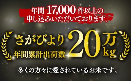 【10kg×12回定期便】10年連続特A評価!さがびより 計120kg(5kg×2袋)12回定期便 [FBM008]