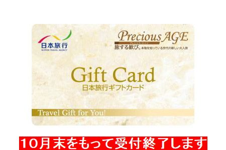 【2617-5040】【期間限定】【2019年1月以降発送】吉野ヶ里遺跡へ行こう!日本旅行ギフトカード(20万円分)