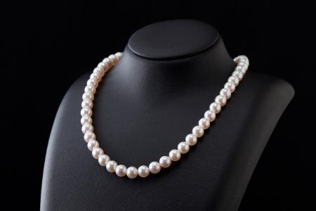 五つ星級の真珠!オーロラ艶!ラウンド7.0-7.5mmアコヤ真珠ネックレス・ピアスorイヤリングセット Q-244