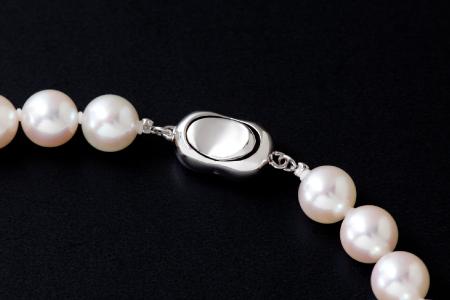 五つ星級の真珠!オーロラ艶!ラウンド8.5-9.0mmアコヤ真珠ネックレス・ピアスorイヤリングセット S-99