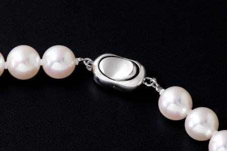 五つ星級の真珠!オーロラ艶!ラウンド9.0-9.5mmアコヤ真珠ネックレス・ピアスorイヤリングセット K-48