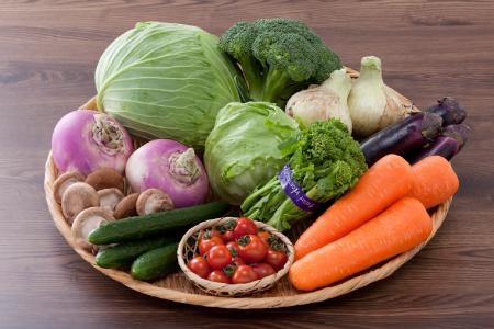 直売所直送!季節の野菜詰め合わせ 定期便3回 E-189