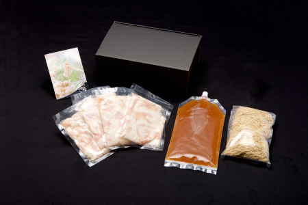 麺にこだわった!!佐賀和牛もつ鍋と絶品塩もつ鍋食べ比べセット 計7~9人前 B-664