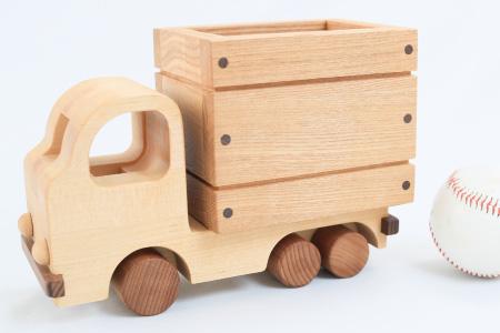 G-118 日本製!!「優しい木の玩具 トラック」 1個