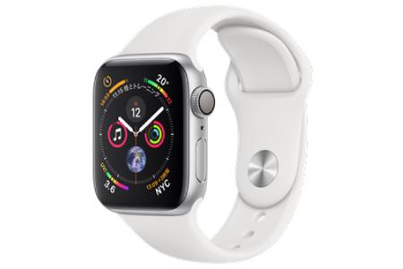 Apple Watch Series 4 GPSモデル 40mm スポーツバンド 【ホワイトスポーツバンド】