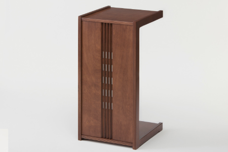 G-116 日本製!!「木製サイドテーブル」 1台【ベッドやソファーのサイドに】