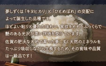DY064_「令和3年産新米予約」夢しずく 定期便 12ヶ月 新米 120kg (10kg×12回) 米 2021年9月下旬より順次発送