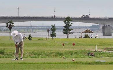 A6 豆津ゴルフ場 平日セルフ ゴルフチケット(1名分)