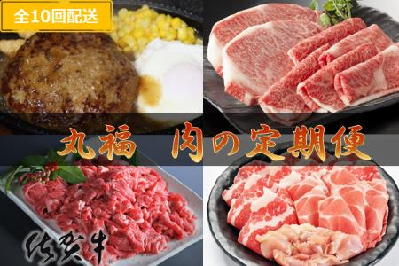 丸福 肉の定期便 10回コース