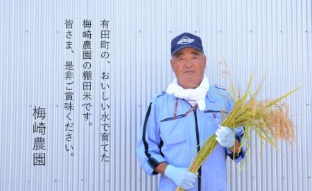 K14-2 令和元年産 有田の清らかな水で育った棚田米『玄米』10kg