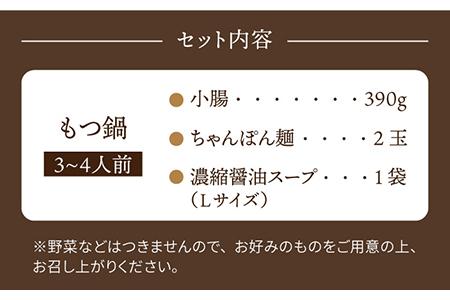 【M-9】やましょう もつ鍋セット(3~4人前)〈冷凍〉