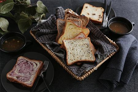 【2632-0470】クロワッサン食パン個包装よりどり15枚セット
