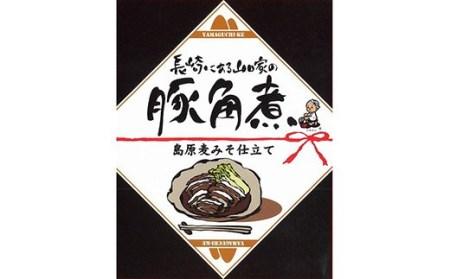 AD101長崎名物 豚角煮 島原麦みそ仕立て 5食セット