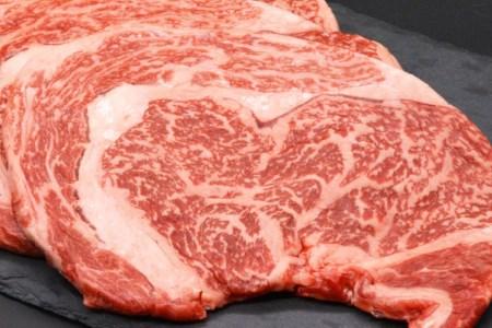 AF001長崎県産牛ロースステーキ 600g(200g×3枚)