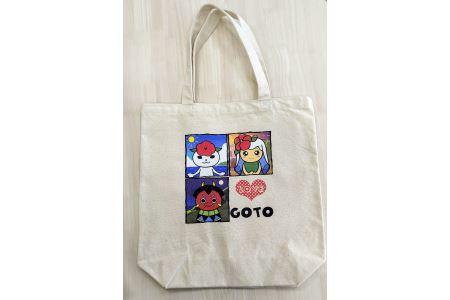 0263 つばきねこ&フレンズトートバッグ 【20pt】
