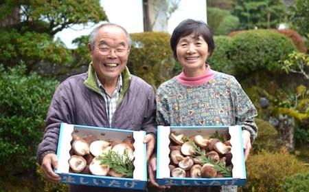 【予約受付】数量限定!原木生椎茸1kg (上)