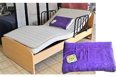 紫根染付枕カバー フランスベッドの介護ベット